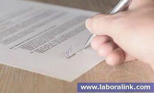 copia del contrato de trabajo